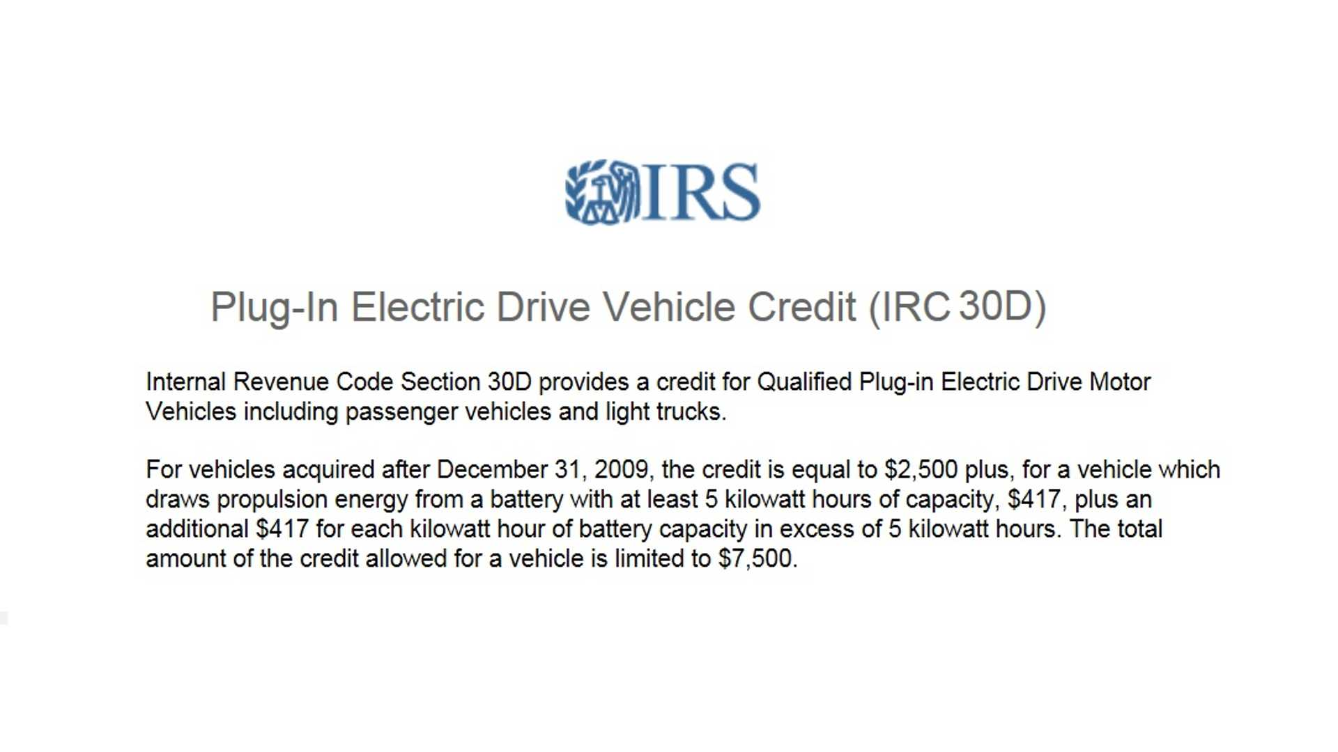 Top 15 Faqs On The Income Tax Credit For Plug In Vehicles Insideevs Photos
