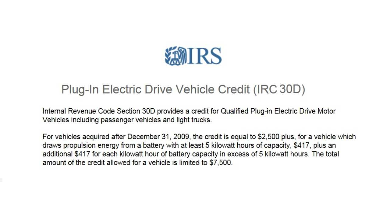 Top 15 Faqs On The Income Tax Credit For Plug In Vehicles