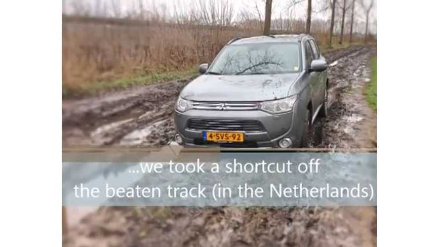 Mitsubishi Outlander PHEV Off Road Adventure - Video