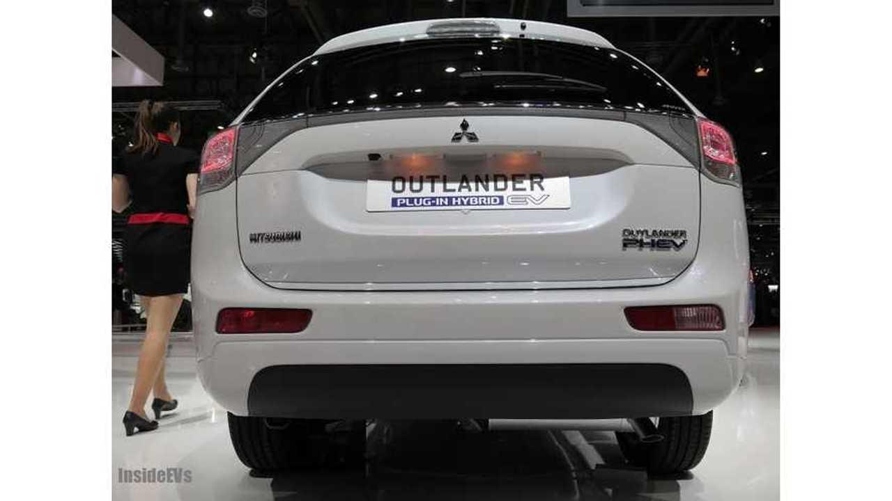 Mitsubishi Prices Outlander PHEV at £28,249 ($47,012 USD) in UK
