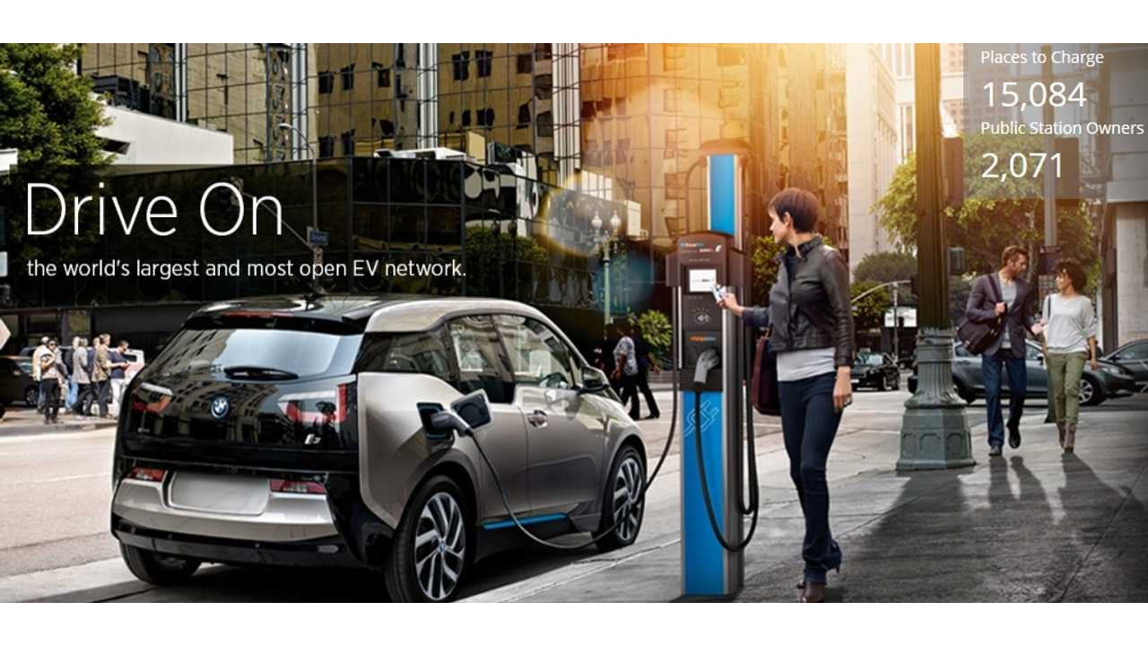 ChargePoint Stations Have Now Dispensed 100 Million Gas Free Miles
