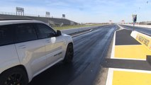 Jeep Grand Cherokee Trackhawk Drag Strip