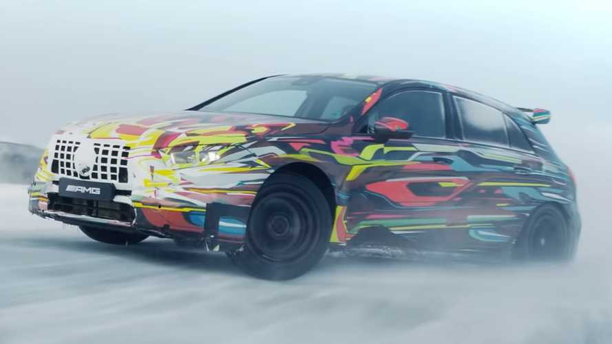 See The 2020 Mercedes-AMG A45 Dance On Ice In New Teaser