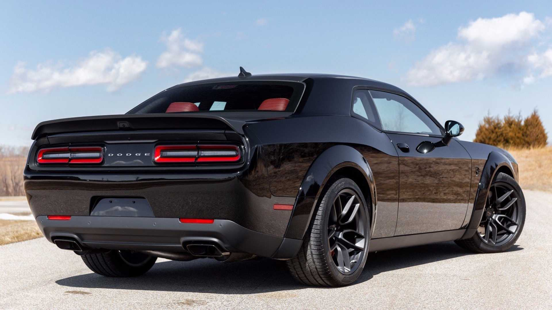 """[""""Own This Barely Driven Sinister Dodge Hellcat Redeye""""]"""