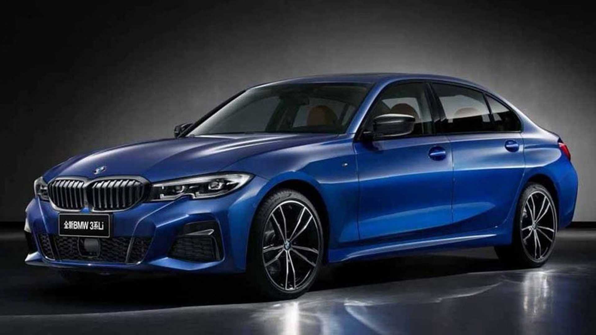 2019 Bmw 3 Series Long Wheelbase Quietly Revealed In China