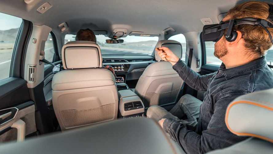 Audi auf der CES 2019: Neues Virtual-Reality-System für den Fond