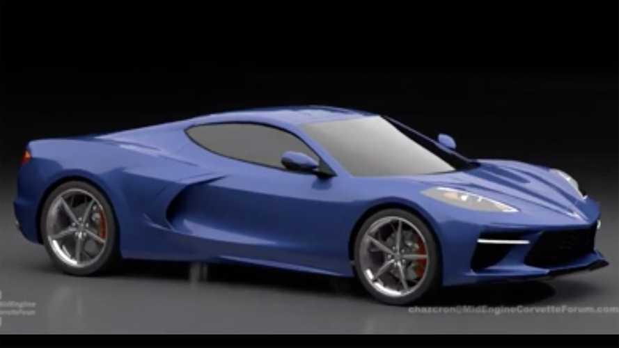 Ortadan motorlu Corvette'e detaylı tasarım yorumu