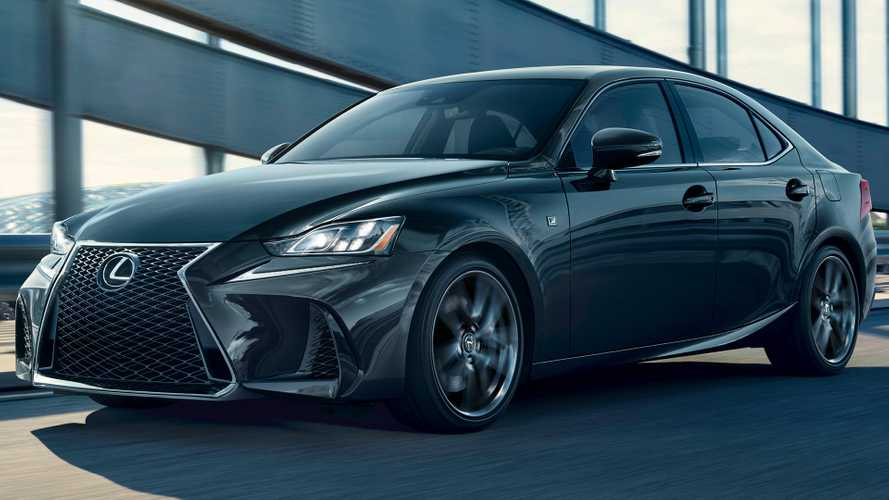 Lexus IS 300 F Sport Black Line Special Edition Adds Darker Style
