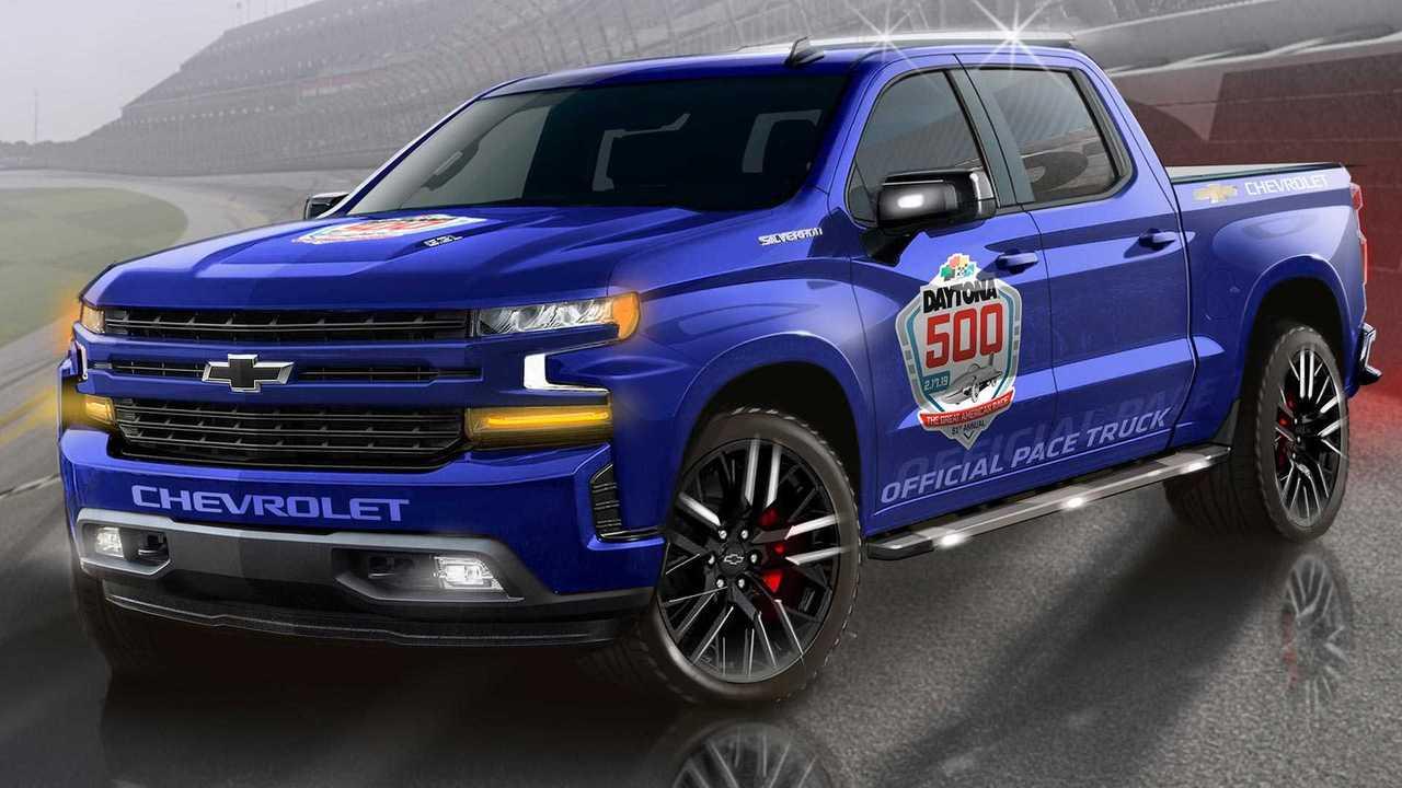 2019 Chevrolet Silverado Daytona 500 Pace Truck