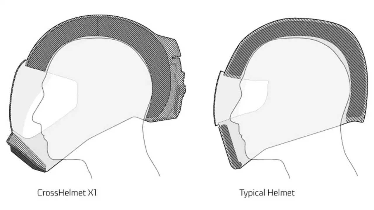 CrossHelmet X1 Smart Helmet