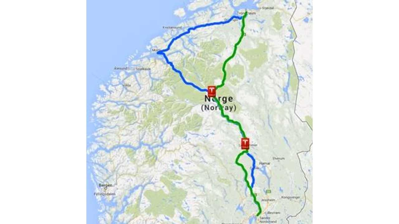 Video: In Norway's Wintry Condition, Tesla Model S Attempts 225-Mile Trip on Single Charge