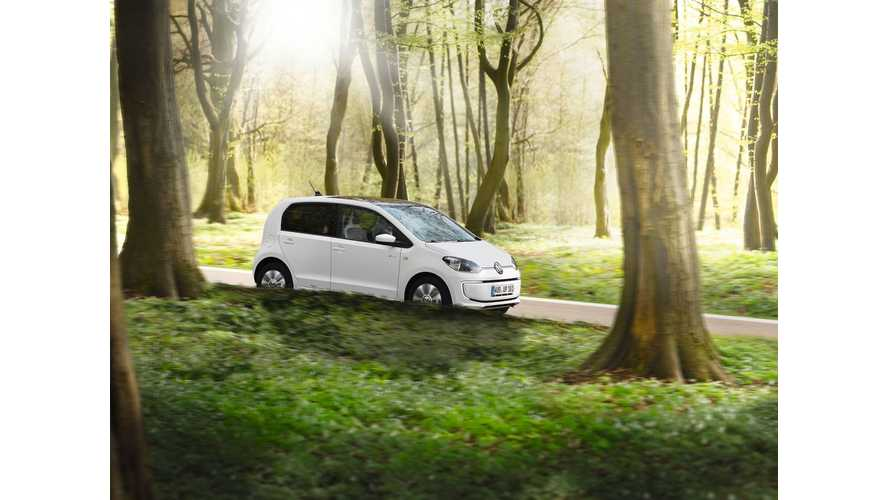 Ecotricity Partners With Volkswagen - e-Up! Buyers to Receive 1,000 Free Electric Miles