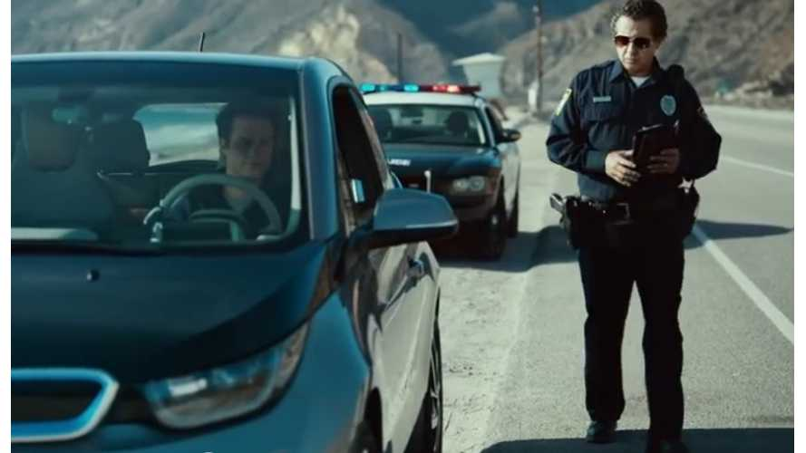 New BMW i3 Ads:  Police After Pullover -