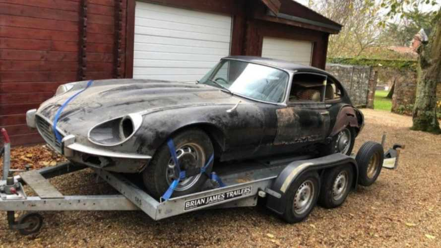 Why This 1973 Jaguar E-type V12 Barn Find is for The Brave