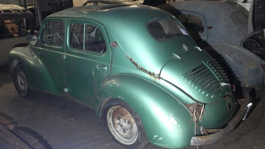 Sortie de grange en France / Barn Find