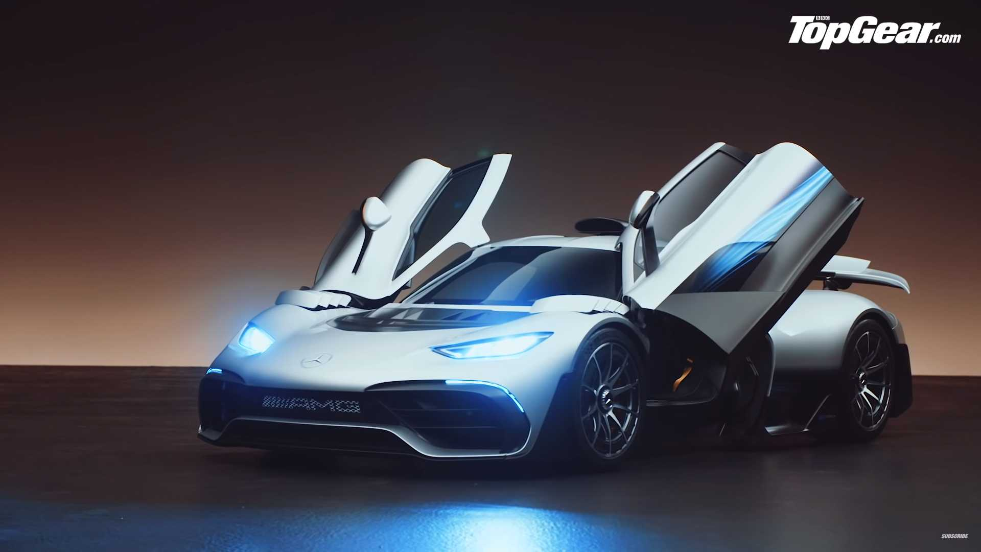 Mercedes Amg One Gets An Up Close Inspection From Top Gear