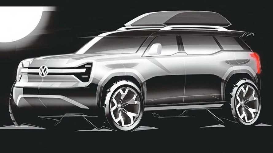 Volkswagen potansiyel elektrikli SUV