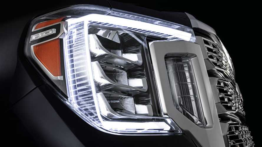 GMC Teases 2020 Sierra HD's New Face
