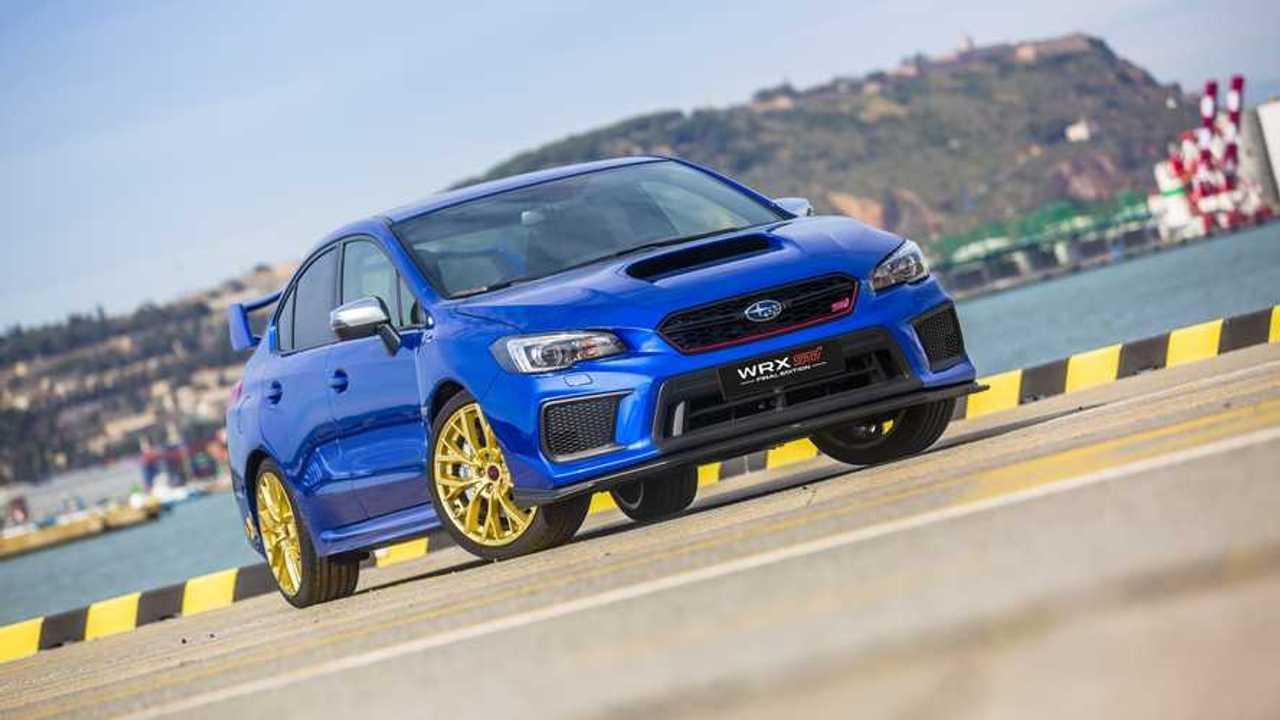 Subaru WRX STI Final Edition 2019