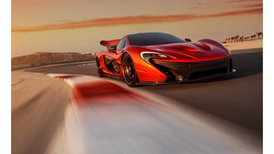 McLaren Quickly Sells Two-Thirds of Total Production Run of P1 Plug-In Hybrid