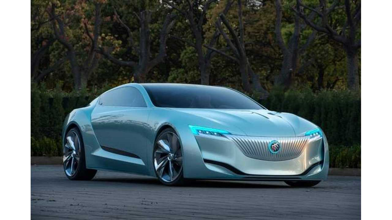 Buick Unveils Radical Riviera Plug-In Hybrid Concept in China