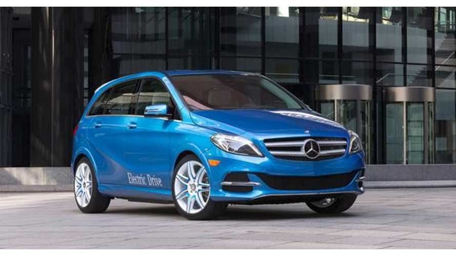 Mercedes-Benz B-Class Electric Drive to Launch in US in 2014 with 115-Mile Range (Watch Reveal)