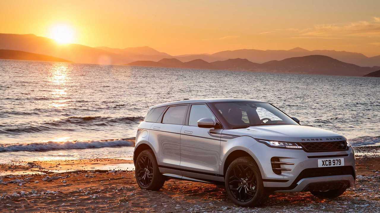4. Range Rover Evoque: 10.9 Percent