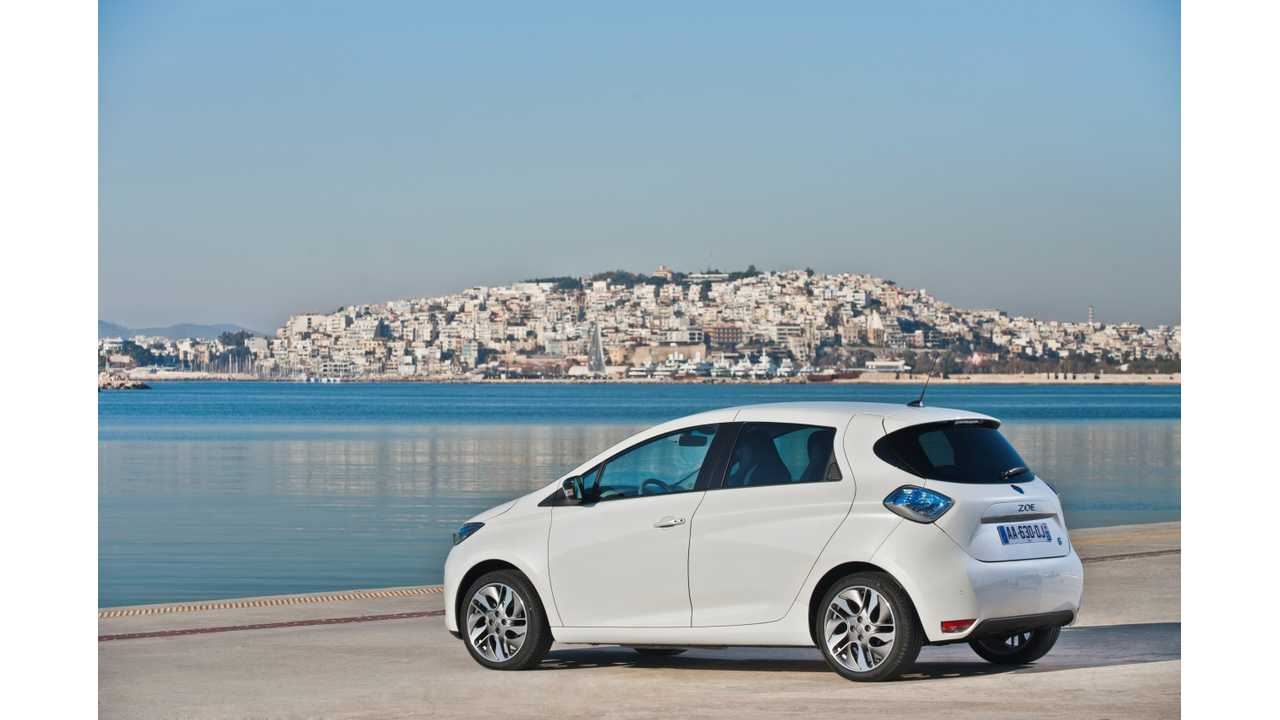 Renault Logs Dissappointing Number of ZOE Sales in France in July; Nation's EV Sales Down Overall