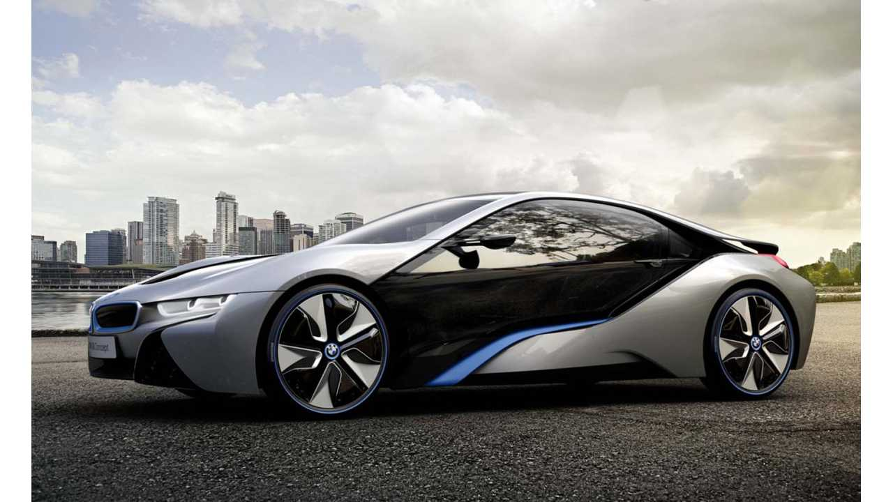 BMW i8 Expected To Go On Sale Within Weeks of i3 in US; More i Models Likely