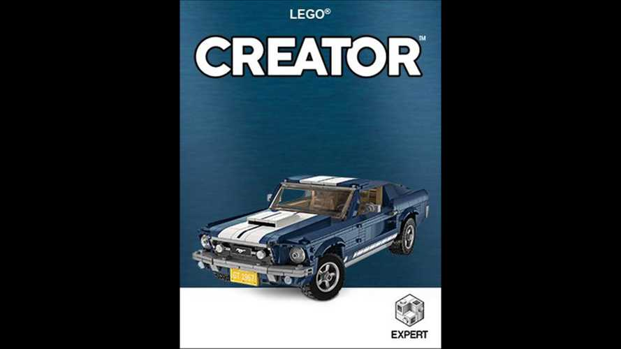 Classic Ford Mustang Shelby Lego Kit Leaks Online