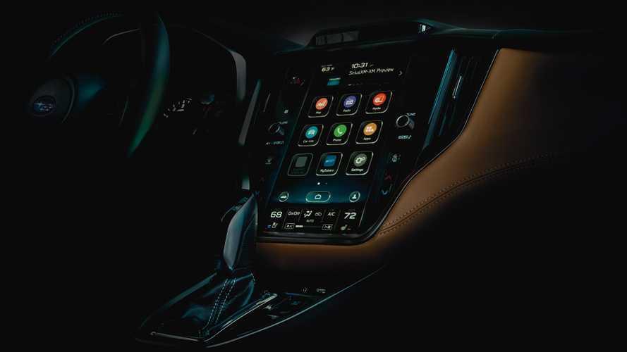 2019 Subaru Legacy Teaser Görüntüleri