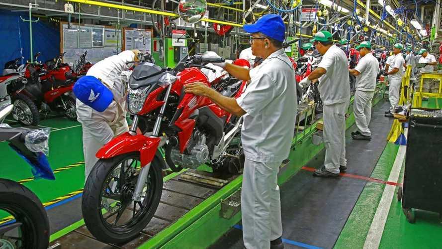 Honda investe R$ 500 milhões na fábrica de motos em Manaus (AM)