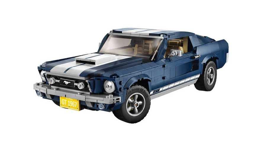 Lego s'empare de la Ford Mustang de 1967