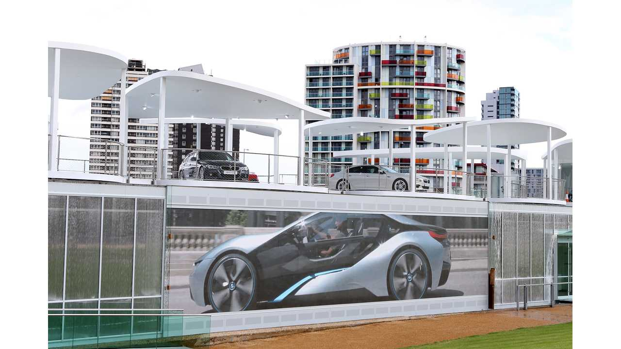 BMW i3 and i8 Concepts On Display at 2012 Olympic Park Pavilion