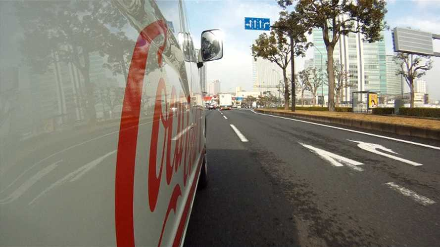 Enjoy A Coke, As Delivered By Nissan's Upcoming e-NV200 Electric Van (video)