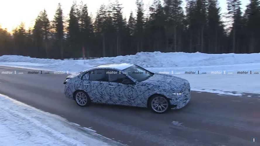 2021 Mercedes-Benz C-Class Spied
