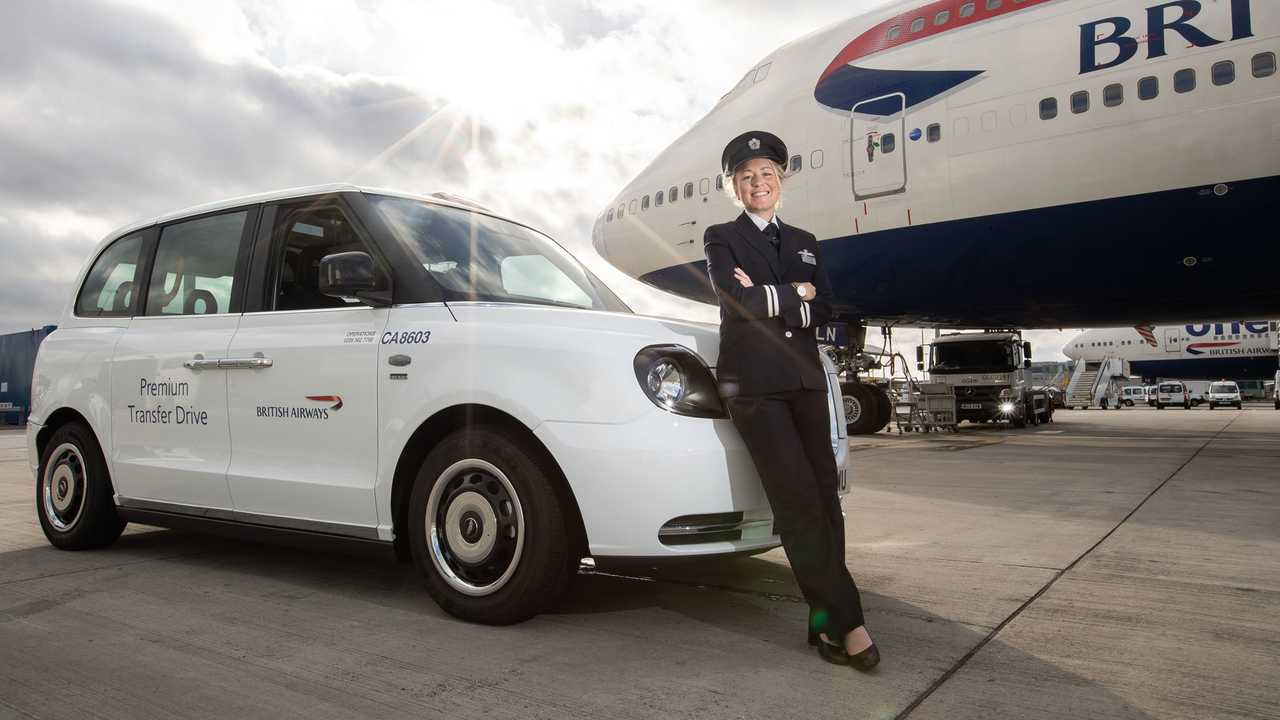 British Airways LEVC Taxi