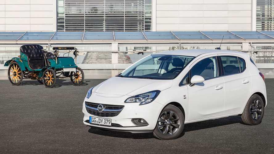 """Opel Corsa """"120th Anniversary"""", speciale in attesa della nuova"""