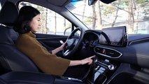 Hyundai Santa Fe 2019 huella digital