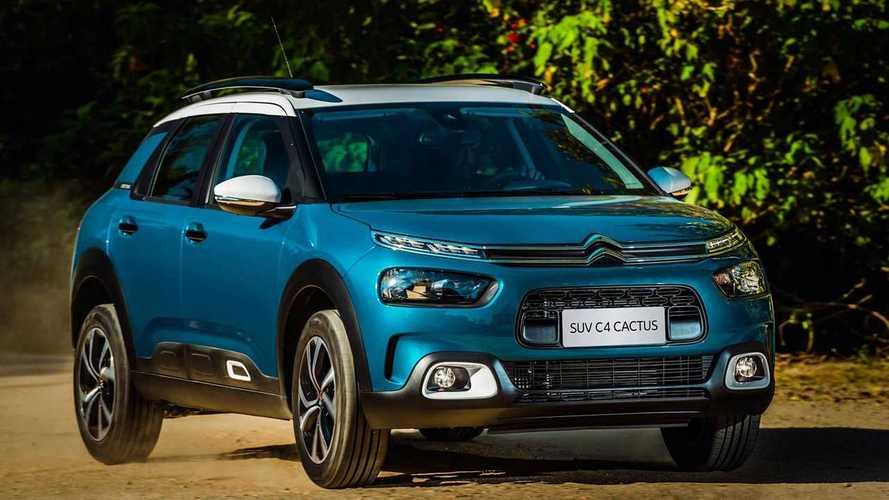 Citroën anuncia descontos de até R$ 10 mil para C3, C4 Cactus e Jumpy