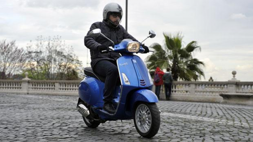Vespa Sprint 125 3V ie 2014 - TEST