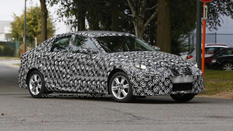 2014 Lexus IS spied