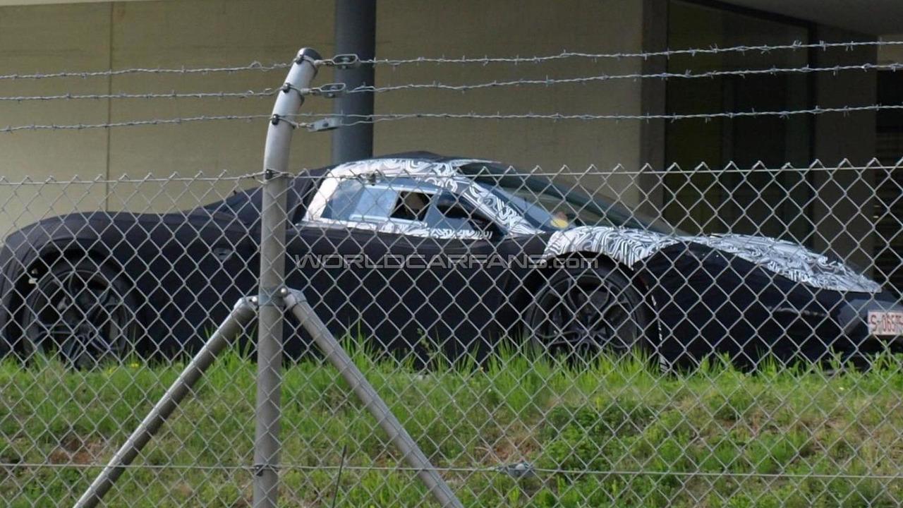 McLaren F1 successor prototype spy photo