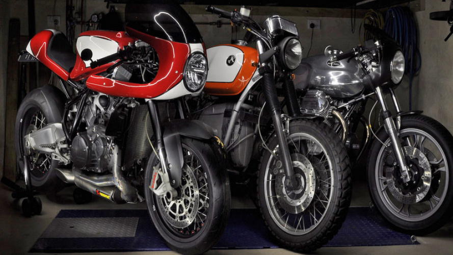 Big Red KTM Cafe Racer