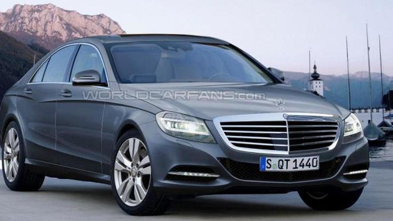 2013/2014 Mercedes S-Class artist rendering, 1000, 14.03.2012
