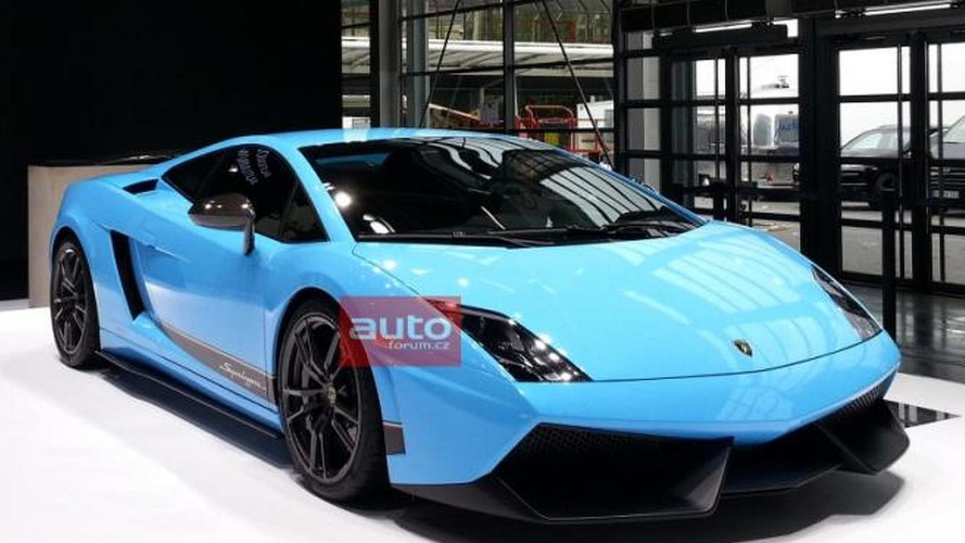 Lamborghini Gallardo LP570-4 Superleggera Edizione Technica leaked