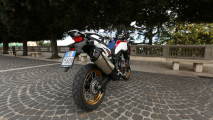 Test Honda Africa Twin 2016