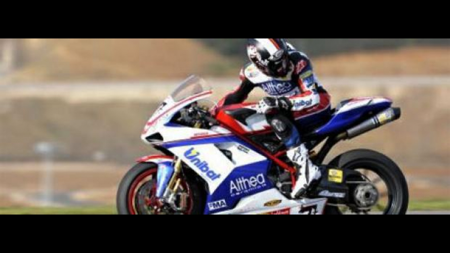 WSBK 2010, Team Althea: bene anche a Valencia