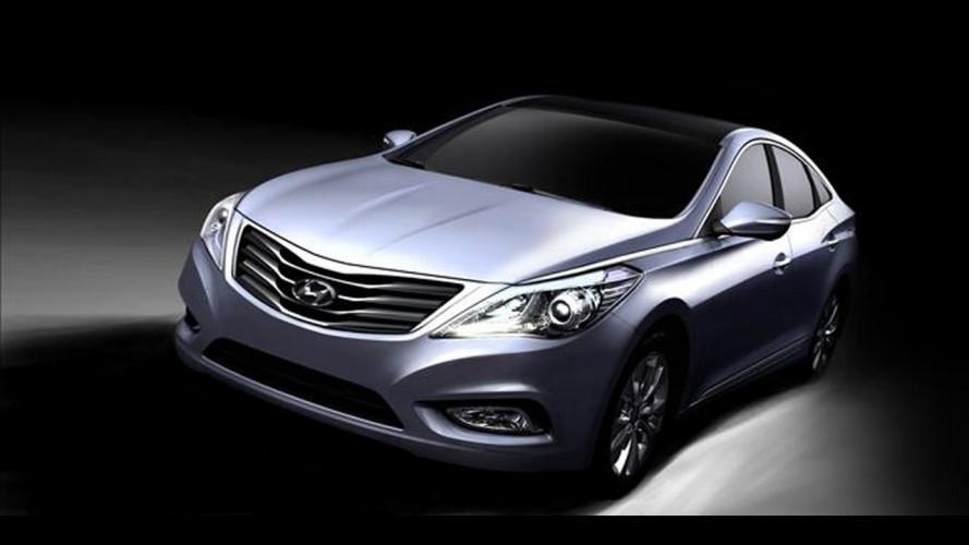 Nuova Hyundai Grandeur: prime immagini