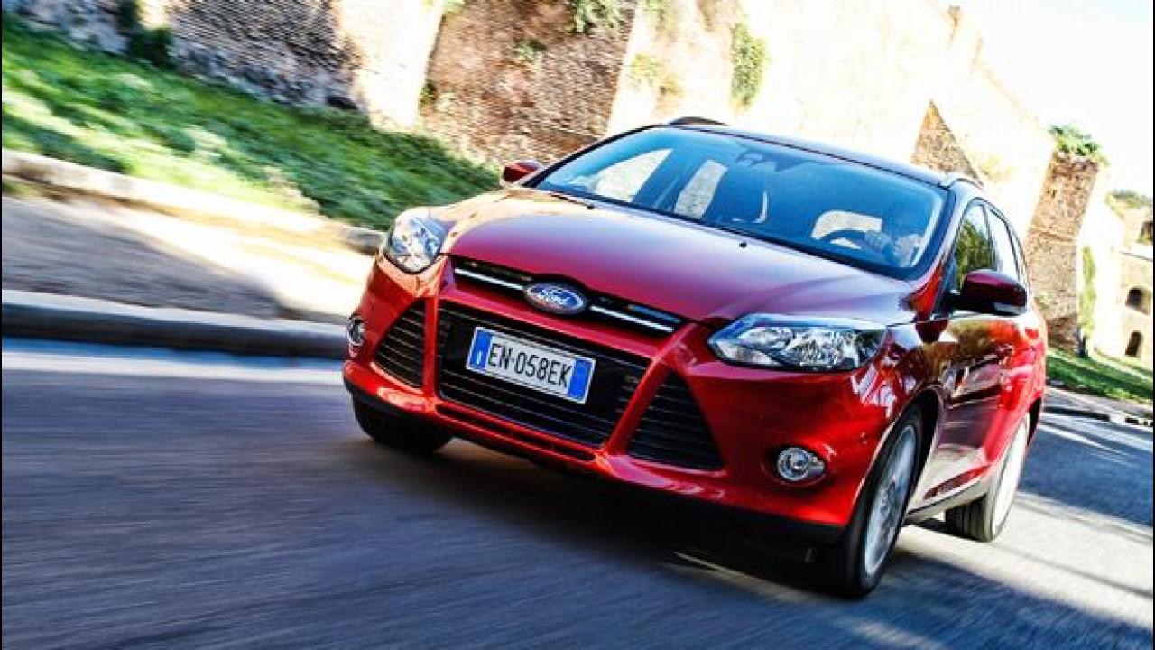 [Copertina] - Ford Focus Wagon 1.0 EcoBoost 125 CV Titanium